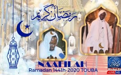 LIVE -Touba   Ramadan 1441h/2020   Nafilah 29e Nuit à la Grande Mosquée de Touba