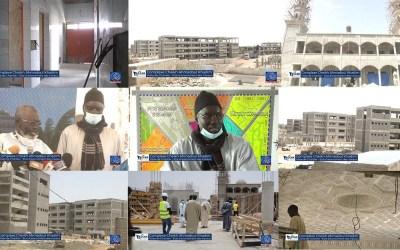 Complexe Cheikh Ahmadoul Khadim | État des travaux, Point de Presse | Université de Touba #02