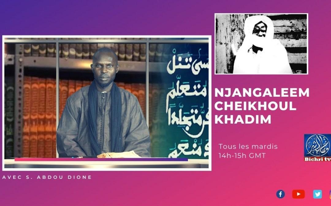 "🔴En direct | Njangaleem Cheikhoul Khadim | Tome 7 ""Massalikoul Djinane""P5"