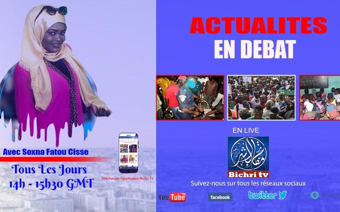 🔴 LIVE | Actualités en Débat | lundi 25  août