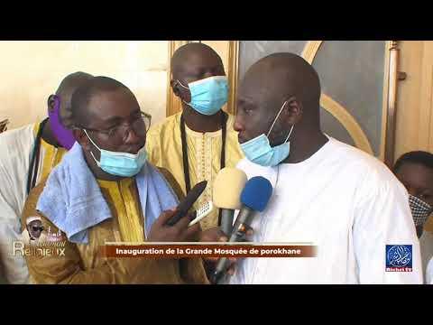 Serigne Abdoulaye DIAKHOUMPA  Inauguration de la Grande Mosquée de Porokhane