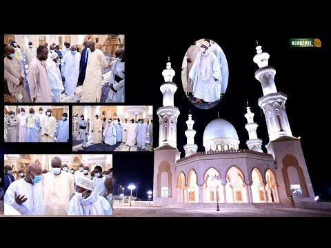 Urgent Visite de Serigne Mountakha MBACKÉ Bachir à la grande mosquée de Porokhane