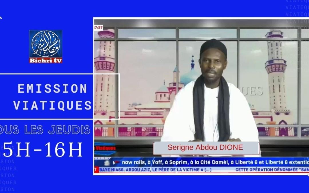 🔴En direct | LIVE | Emission Viatiques | Themé: Serigne Touba Ak Al-Quran