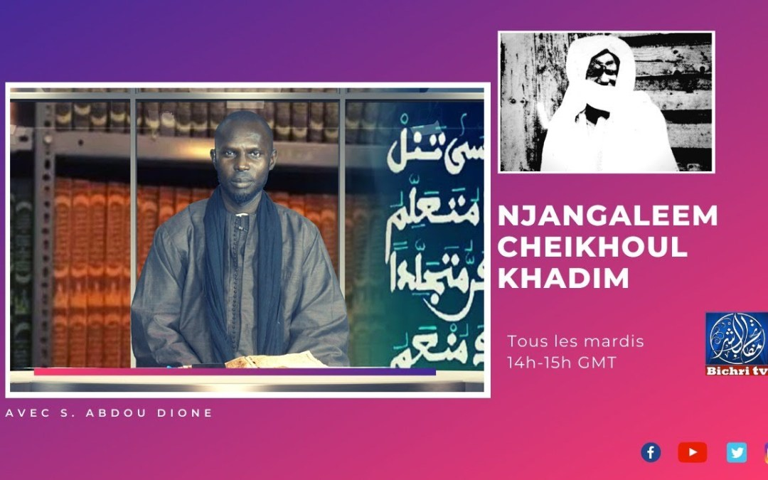 "🔴En direct | Njangaleem Cheikhoul Khadim | Tome 7 ""Massalikoul Djinane""P10"