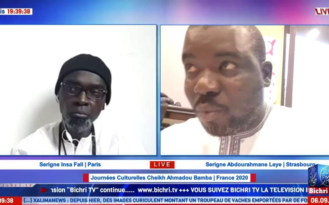 Journées Culturelles Cheikh A. Bamba   France – Plateau des Jewrignes