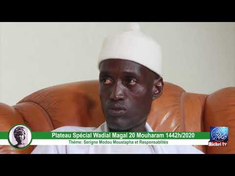 Magal Darou Khoudoss 2020   Serigne Modou Moustapha ak responsabilité