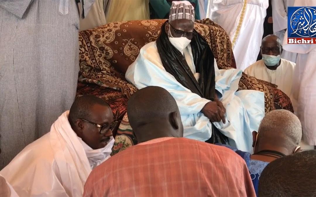Visite de Serigne Mountakha Mbacké au Complexe Islamique de Mbacke