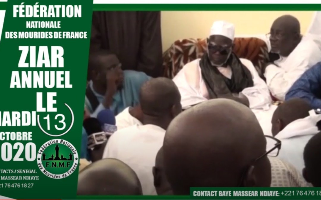 LIVE | Plateau Special| Wajal Ziar  Fédération des Dahiras Mourides de la France