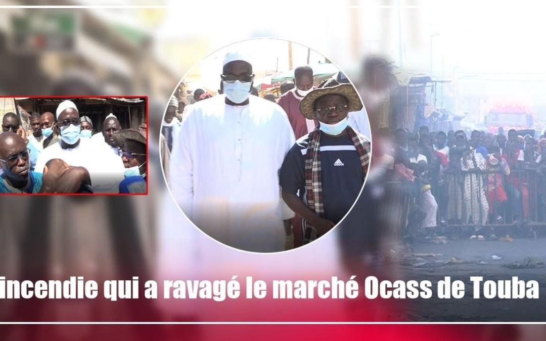 Incendie à Touba: Visite de Serigne Cheikh Abdou Bally Mbacke