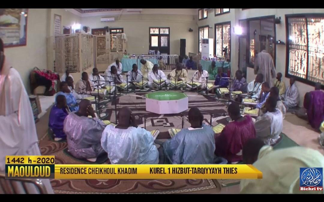 Madal Xabiru- Lisaanu Chukri   Kourel 1 Hizbut Tarqiyyah Thies Gamou 2020