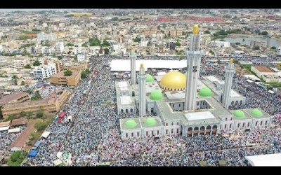 🔴 En  Direct Dakar| Prière du Vendredi à la Grande Mosquée Massalickoul Djinane