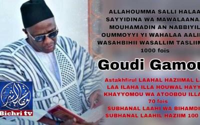 Lou am solo!! Kou def li si Goudi Gamou…  Serigne Abdou Samad Mbacké