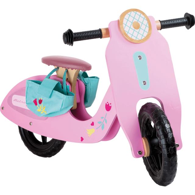 Bicicleta sin pedales 'Pink speedster' – rosa – 12 pulgadas – Small Foot