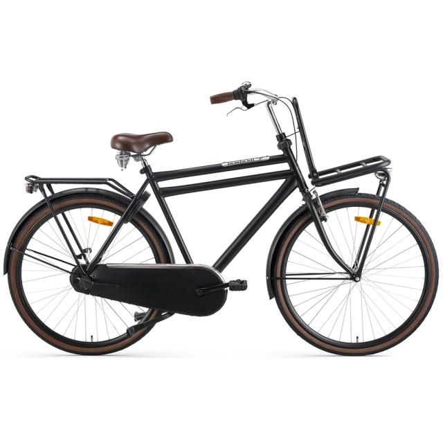 Bicicleta holandesa – Daily Dutch Basic+ Hombres – 28 pulgadas – negro – Popal