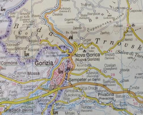 Confine Italia / Slovenia