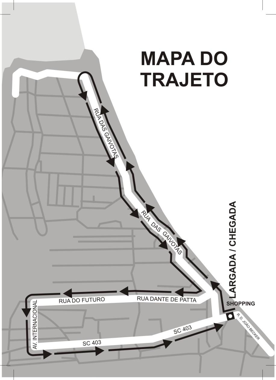 Mapa do Trajeto