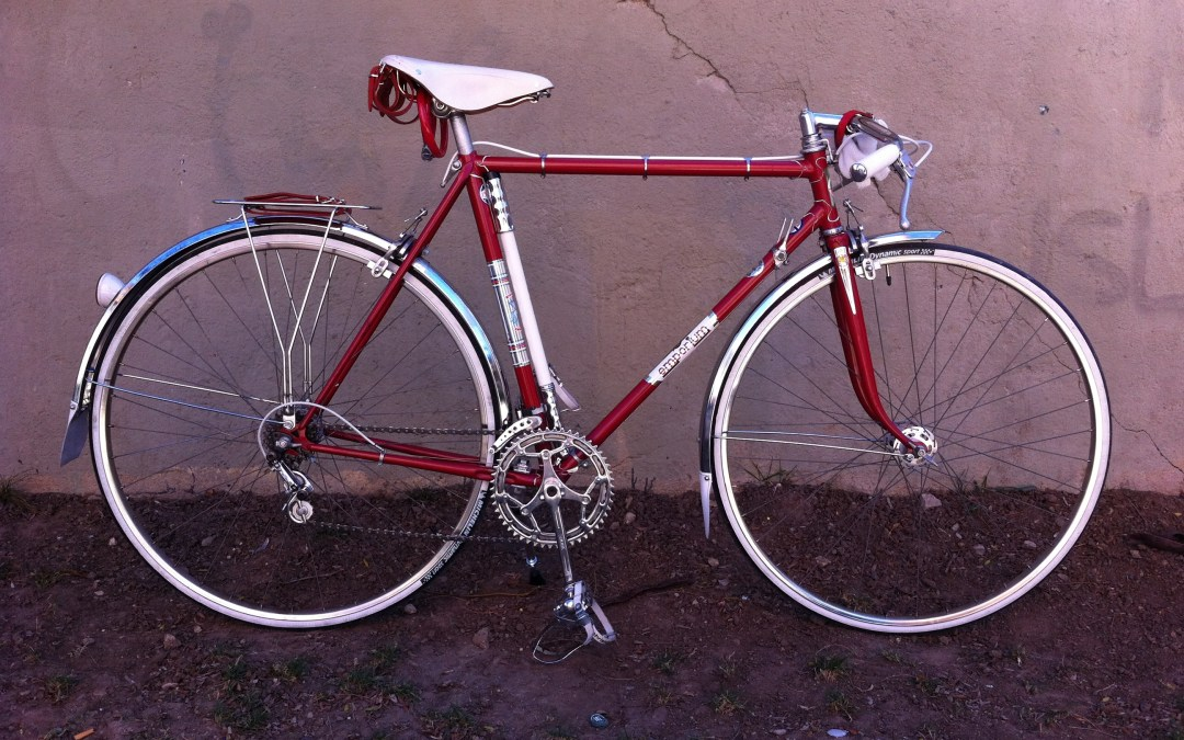 Emporium, de bicicleta de carreras a bicicleta de paseo.