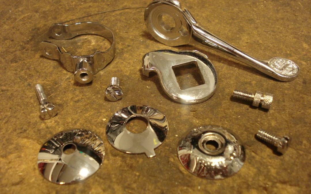 Cromado de piezas de bicicleta