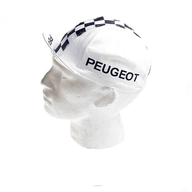 Gorra ciclismo vintage Peugeot