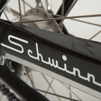 Bicicleta Schwinn Corvette años ´50 detalle guardacadenas
