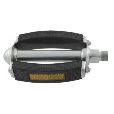 Pedal-con-bloque-de-goma-negro-y-reflector-redondeado