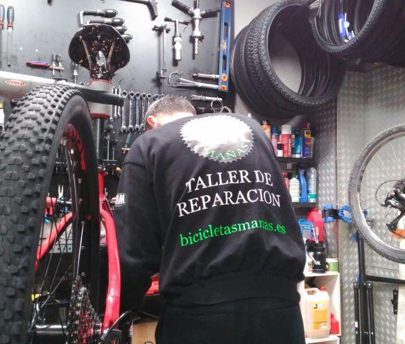 Taller Bicicletas Mañas Tienda de bicicletas en Leganes Fulcrum Madrid
