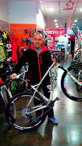 Moisés Manzanares Bicicletas Manzanares Albacete
