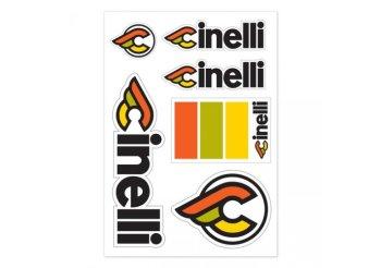 Stickere Cinelli Italo 79 Alb