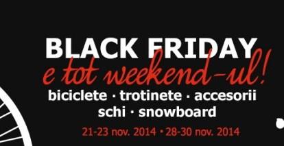 Magazine de biciclete cu oferte de Black Friday