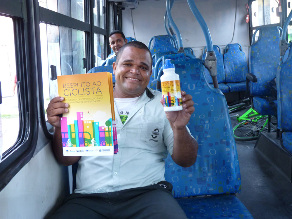 Como foi o treinamento dos Motoristas de Recife e Maceió