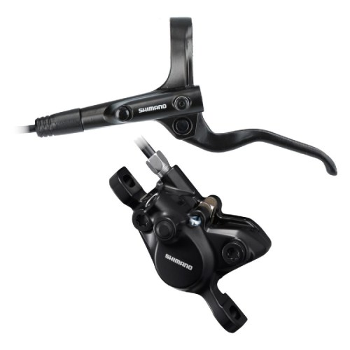 KOČNICA SHIMANO BL-MT201(L), BR-MT200(F), BLACK, W/O ADAPTER, RESINPAD(W/O FIN), W/OLIVE&CONNECTER INSERT,1000MM HOSE(SM-BH59-SS BLACK), IND.PACK
