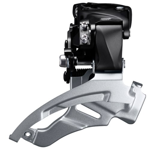 MENJAČ PREDNJI SHIMANO ALTUS FD-M2000, TRIPLE, FOR REAR 9 BRZINA, DOWN SWING, DUAL PULL, BAND TYPE 34.9MM (INCL. ADAPTOR 31.8MM & 28.6MM), FOR 40T TOP, CS ANGLE 66-69, CHAINLINE 50MM, IND.PACK