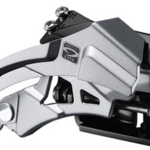 MENJAČ PREDNJI SHIMANO ACERA FD-T3000, TRIPLE, 9 BRZINA, TOP- SWING, DUAL-PULL, , BAND-TYPE 34.9M(W/31.8 & 28.6MM ADAPTER), CS-ANGLE 66-69, FOR 44/48T, IND.PACK