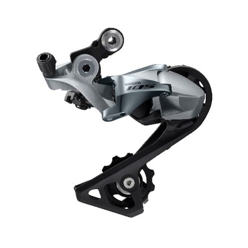 MENJAČ ZADNJI SHIMANO 105 RD-R7000-SS, 11 BRZINA, TOP NORMAL SHADOW DESIGN, DIRECT ATTACHMENT, W/OT-RS900(BLACK) 240MM X1, LONG NOSE CAP X1, SIVI, IND.PACK