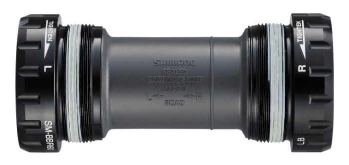 SREDNJA GLAVA SHIMANO ULTEGRA SM-BBR60, RIGHT & LEFT ADAPTOR BSA, BEARING, INNER COVER/ETC, W/TL-FC25, IND.PACK