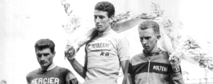 Felice Gimondi in trionfo al Tour 1965