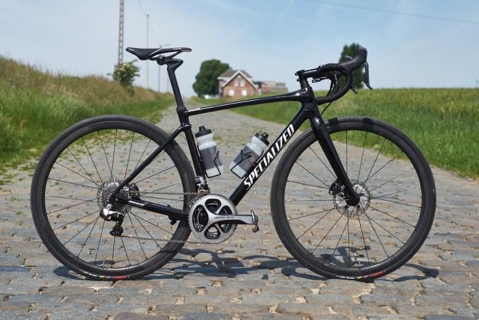 Un modello di Specialized Roubaix con freni a disco (Cyclist)