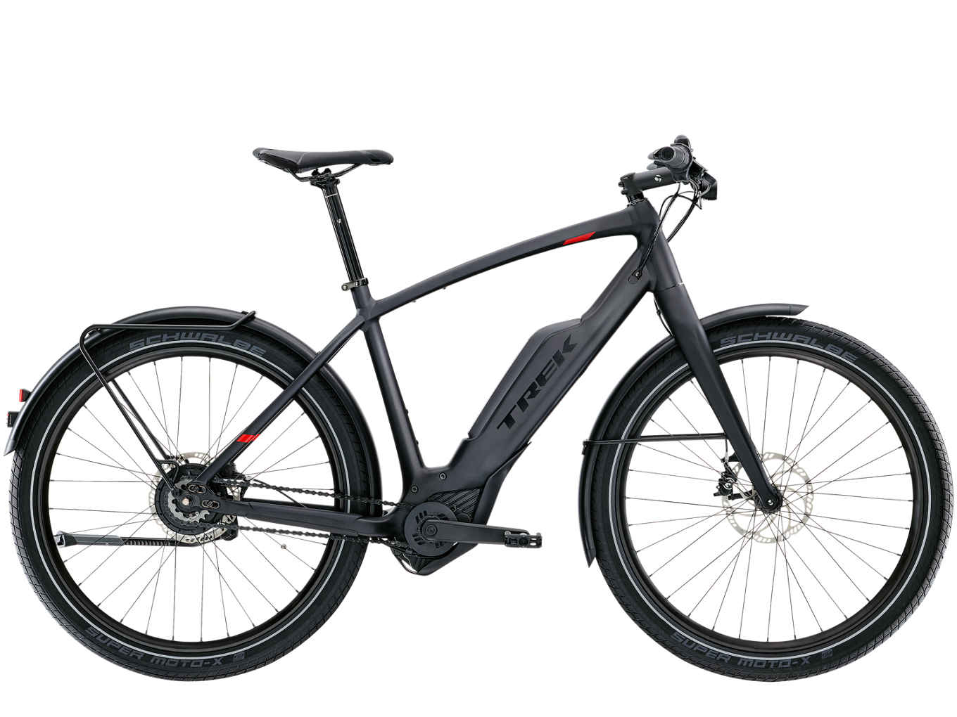 La city ebike Trek Super Commuter+ 9 (trekbikes)