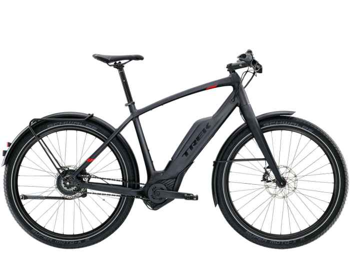 La city ebike Trek Super Commuter+ 9 (trekbikes)