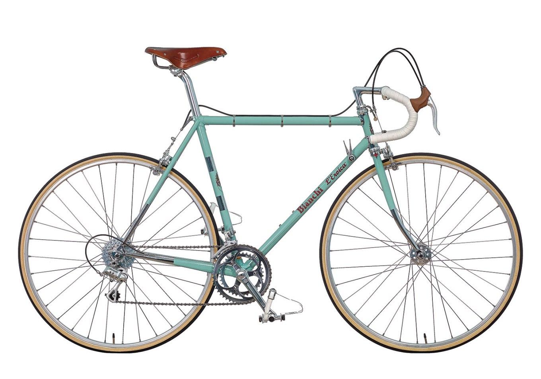 Bici storica Bianchi L'Eroica con telaio in acciaio (bianchi.com)