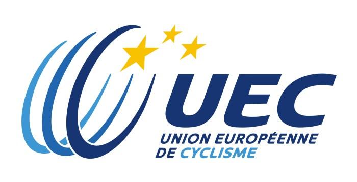 Logo della UEC, Unione Europea di Ciclismo (uec.ch)