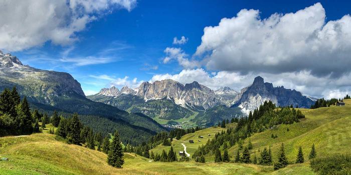 Il meraviglioso panorama visibile da Levico Terme (luciahotel.it)