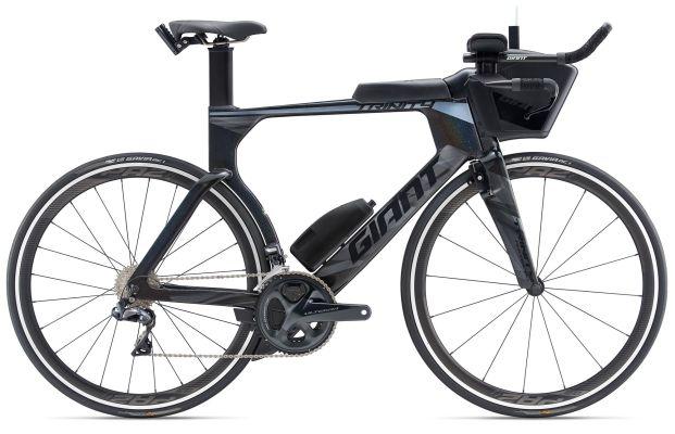 Giant Trinity Advanced Pro 1 da triathlon e crono, specialità in cui l'olandese Tom Dumoulin del Team Sunweb è campione del mondo (Giant Bikes)