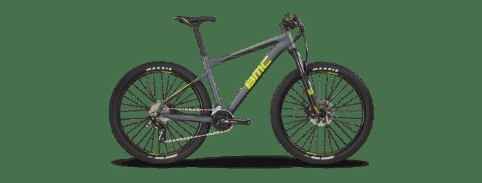 "BMC Sportelite XT Mix 2x10v con telaio in alluminio, forcella RockShox Rekon RL da 100 mm e gomme Maxxis Ardent Race 27.5x2.2"""