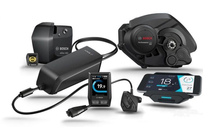 Ecco qui una immagine dei nuovi prodotti Bosch 2019 (foto tratta dal sito web bosch-ebike.com)
