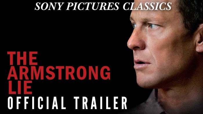 """Cover dal trailer di """"The Armstrong Lie"""""""