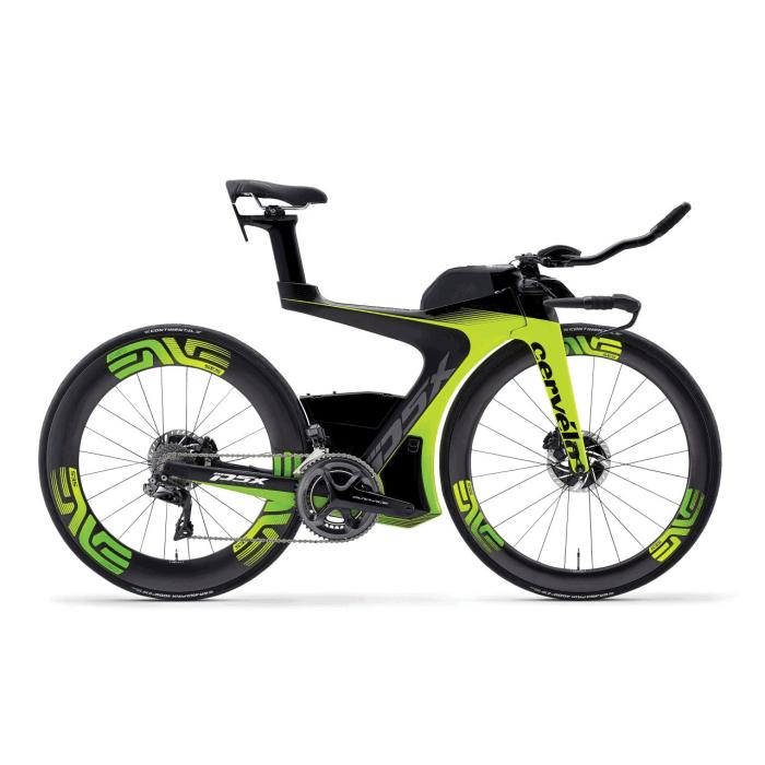 Cervélo P5X Disc DA Di2, bici da triathloon top di gamma dell'azienda di toronto (www.focusitaliagroup.it)