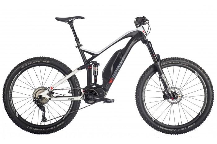 Foto bici elettrica a pedalata assistita Brinke Bike XFR+ (immagine sito brinkebike.com)