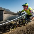 Biker sui trail ECL