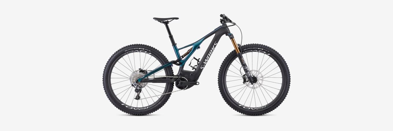 S-Works Turbo Levo, la mountain bike elettrica di Specialized con motore Specialized 2.1, batteria 750 Wh e forcella Fox 36 Facctory e-bike con escursione da 150 mm (immagine dal sito web specialized.com)